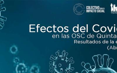 """Presentan resultados de encuesta """"Efectos del Covid-19"""" en las OSC de Quintana Roo"""